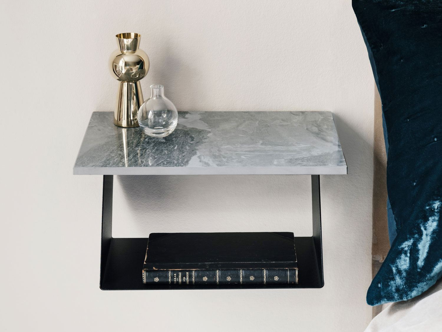 This Wall Shelf Design Works Perfectly As A Night Stand Edgy Shelf By Designer Malin Lundmark For Maze Interior 3000