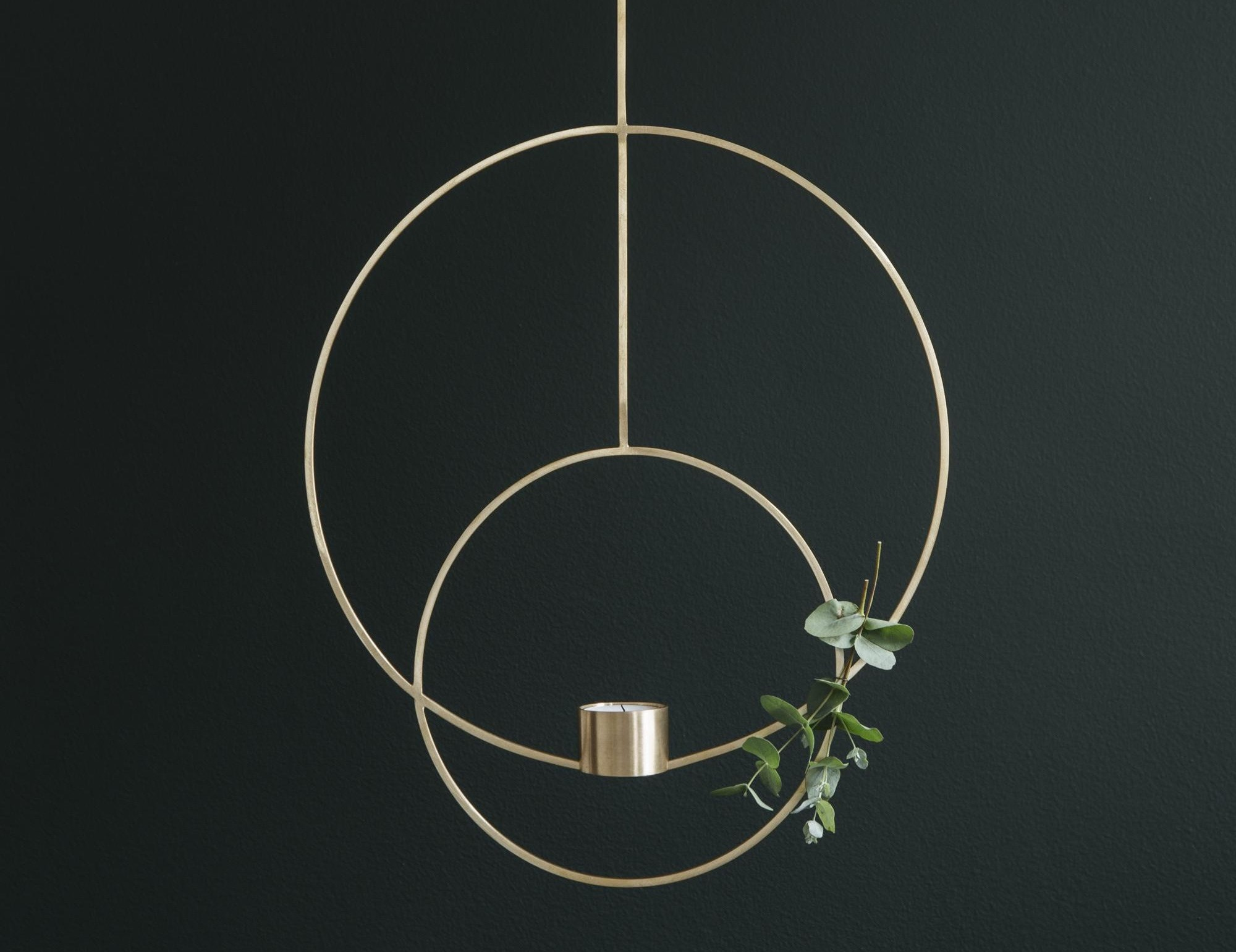 Hang This Modern And Simplistic Candleholder Design To Create Beautiful Living Light Hanging Tealight Designed By Ferm Living Interior 3000